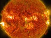 Llamarada Solar Fuerte Dirige Hacia Tierra