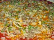 Pizza casera, masa casera elaboración propia.