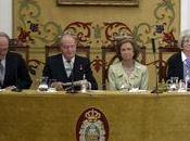 Reyes España inauguran Curso Reales Academias Real Academia Farmacia