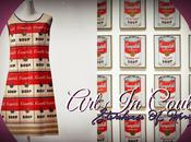 COUTURE. Andy Warhol Campbell's Souper Dress