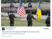 Miente embajador EE.UU. Kiev publicar fotos falsas maniobras Ucrania