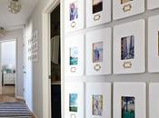 collage fotos pared