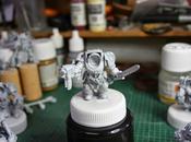 Cómo pintar exterminador Guardia Lobo. Tercera parte