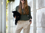 Fringes military look