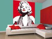 Marilyn Monroe decoración hogar