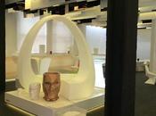 Imágenes obra Showroom Vondom Shangai, diseñado A-cero
