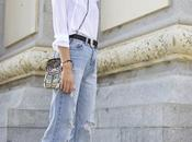 Lady boyfriend jeans