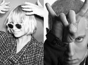 "Eminem Sia, estrenan 'lyric video' ""Guts over Fear""."