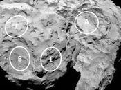lugares elegidos para aterrizaje Philae