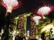 Gardens noche, Singapur