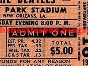años: Sept.1964 City Park Stadium Orleans, Louisiana Beatles conocen Fats Domino