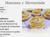 Rosas Hojaldre, Manzana Mermelada