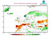 Previsión meteorológica Octubre Noviembre 2014 según NOAA: otoño seco