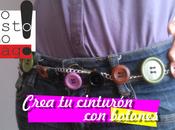 Crea propio cinturón botones paso