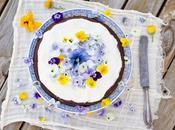 Torta limón, semillas amapola arándanos ¡bienvenida primavera!