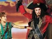 Christopher Walken Capitán Garfio bizarro 'Peter Live!'
