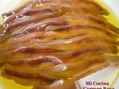 ANCHOAS ACEITE (Cómo limpiar preparar anchoas)