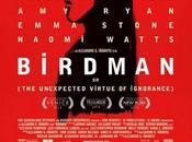 "Nuevo cartel ""birdman"" nuevo alejandro gonzález iñárritu"
