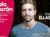 """[NOTA] Bosé, Pablo Alborán Melendi suman concierto """"Cadena ellas"""""""