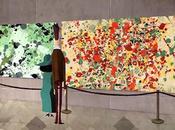 Dripped, genial animación inspirada Pollock