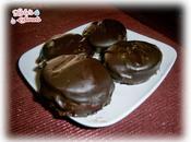 Alfajores chocolate rellenos dulce leche