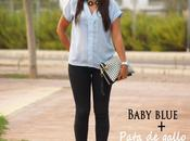 Outfit: Baby Blue Pata Gallo