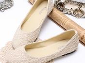 Zapatos novia planos tacos. ¿Por elegirlos?