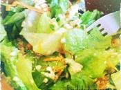 Ensalada manzana zanahoria tofu blando