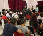 Ensayo abierto música cameral Juan Piñera¨ Universidad Artes Cuba
