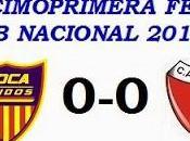 Boca Unidos:0 Colón:0 (Fecha 11°)