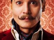 """afiches comedia """"Mortdecai"""" protagonizada Johnny Depp"""