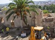 catas Alcazaba Badajoz destapan portillo almohade cañoneras siglo