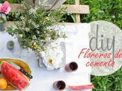 floreros cemento picnic sorteo decopedia5