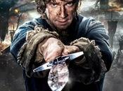 """Bilbo blande espada dardo nuevo póster """"hobbit: batalla cinco ejércitos"""""""