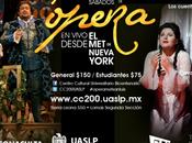 Presentan temporada Ópera Vivo desde SLP.