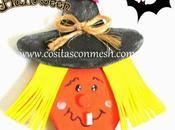 Prendedores bruja para halloween goma