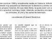 Revista Romántica's Entrevista Alice Kellen, autora Llévame cualquier lugar