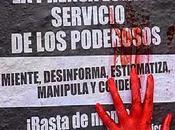 Prensa privada,desinformación mentira: violencia sicariato armas utilizadas derecha Latinoamérica