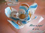Flores wafer paper (papel arroz) pintadas