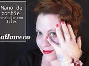 {Halloween} Makeup: mano zombie, latex