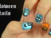 Nail Halloween Pumpkins