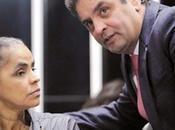 Marina hizo, selló alianza electoral Neves contra Dilma