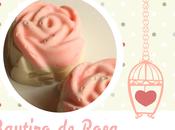 ♥Jabones forma Rosas para Bautizo Rosa