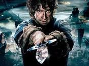"""Banner poster individual hobbit: batalla cinco ejércitos""""con bilbo bolson"""