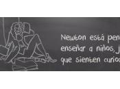 Isaac Newton Descubre forma divertida funcionamiento Universo