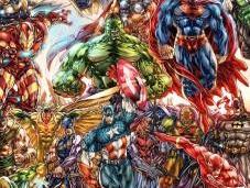superpoderes comics (Rayos cósmicos) #MiércolesDeCiencia
