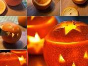 Naranjas decoradas para Halloween