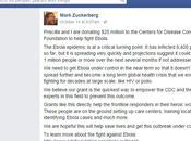 Mark Zuckerberg esposa donan millones dólares para combatir epidemia virus Ébola