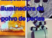 Mascarilla Iluminadora Polvo Perlas Receta 100% Natural Paso