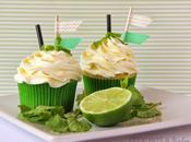 Cupcakes helado mojito